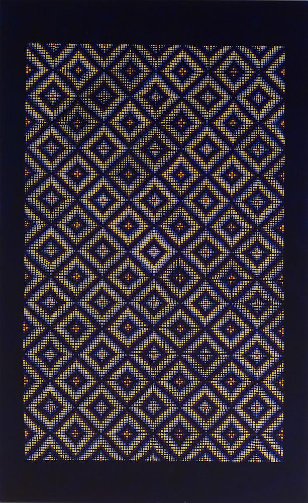 """Grace, DeGennaro, Night, 2016, oil on linen, 78x48"""""""