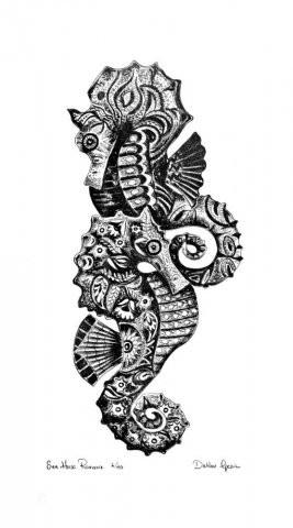 """Sea Horse Romance,"" by Dahlov Ipcar"
