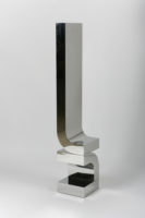 """""""Series 4 #19,"""" 2014, stainless steel, 65 x 12 x 12"""""""