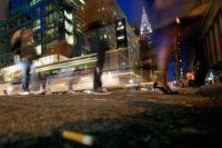 """Chris Becker, 42nd Street & Fifth Ave, 34x51"""""""