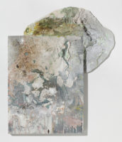 Rhonda Smith, Map 1 Choosing A Route, 2015, 23 X 20 X 4.25""