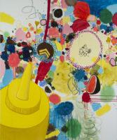 "Big Dipper, 2013, oil on canvas, 72 x 60"""