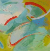 "Jodi Edwards, Summer Colors V, 2014,  48""x48"""