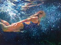 "Jessica Lee Ives, ""Joyful Participation,"" 2017, 30 x 40"""
