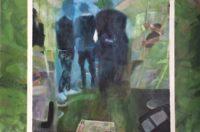 """Paul Heffernan, """"Wide Blue Yonder,"""" 2017, Acrylic on Canvas, 24 x 36"""""""
