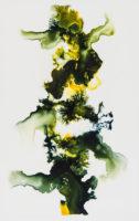 """Carraigin, 2017, ink on Yupo, 11 x 7"""""""