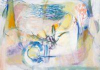 "Heidi Daub, ""True,"" 2015, acrylic on paper, 28 x 39"""