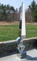 """Series 11 #22,"" 2008, stainless steel, 73 x 16 x 13"""