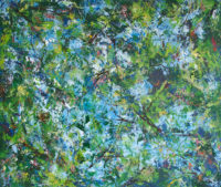Donald V. Rainville, Reverie, 2015, house oils on board, 48 x 40in.
