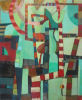 "Delores O Riordan, 2017, 48 x 40"""
