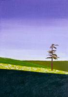 "Jean Kigel, ""Beginning to Sing,"" 2015, oil, 8x10"""