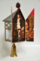 """David Matson, """"Mudra Weenie 3D Triptych"""""""