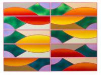 "Jackson Gregory, ""Easter Sunday With Rahsaan,"" 1975, acrylic on canvas, 48 x 68"""