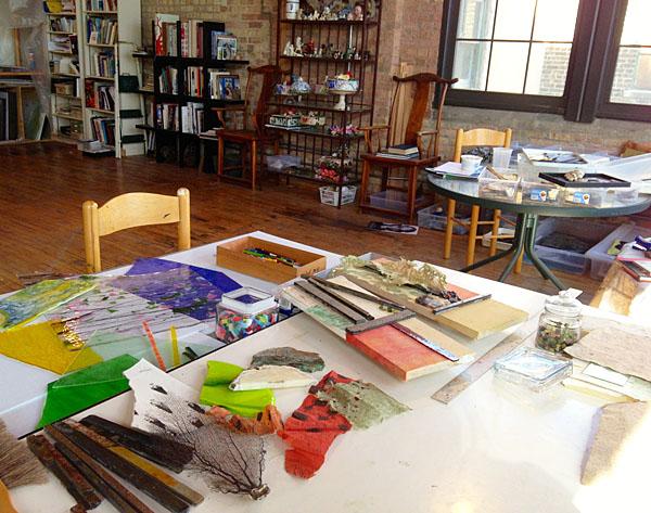 Lowry studio