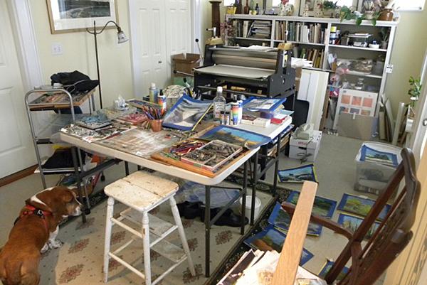 Valentine studio