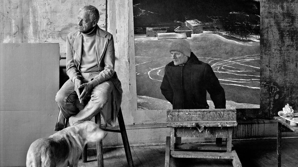 "Peter Ralston, ""Battleground,"" 1981, black and white print, 17 x 22"""