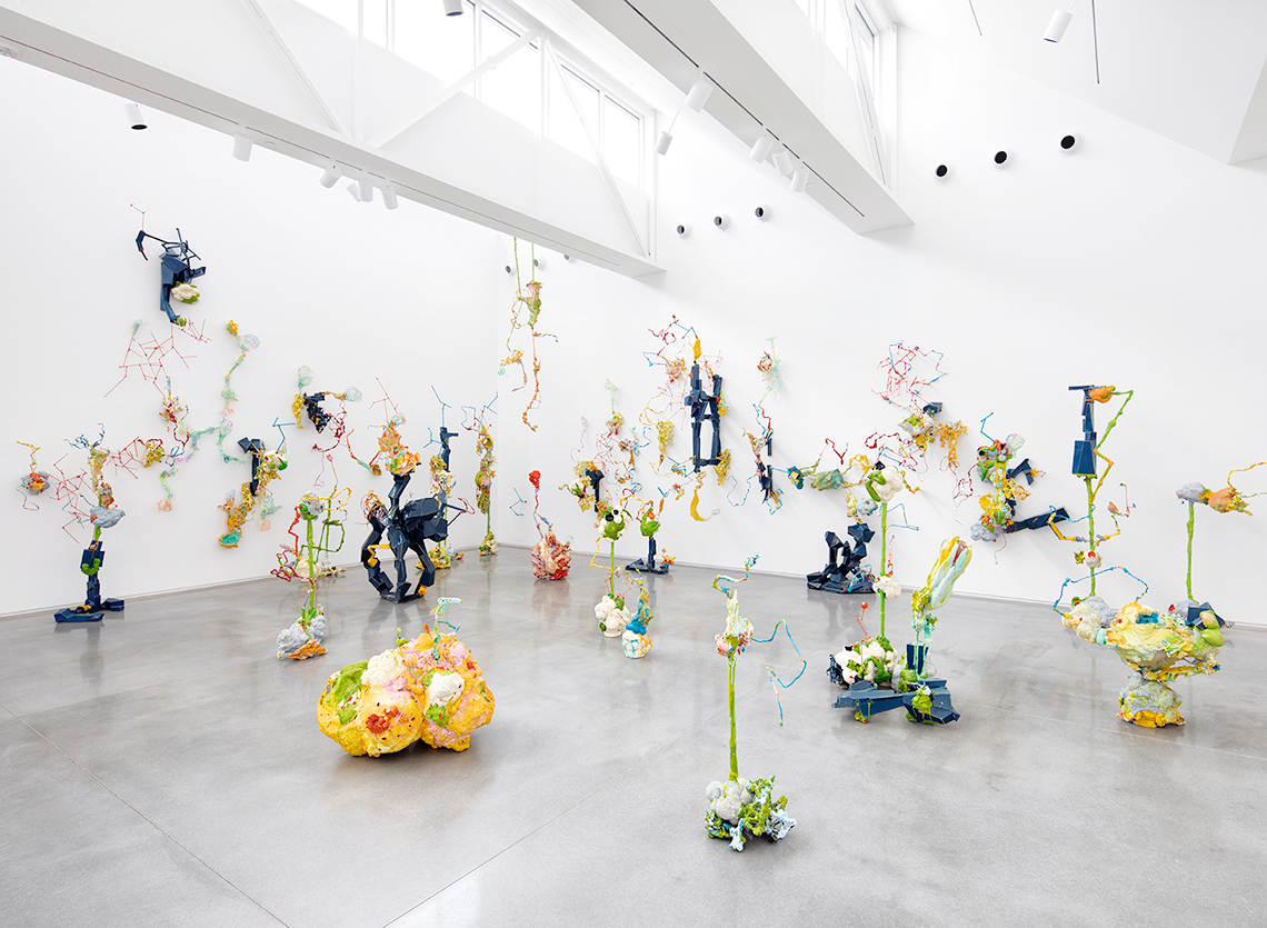 Jackie Brown, installation view, Materiality exhibition