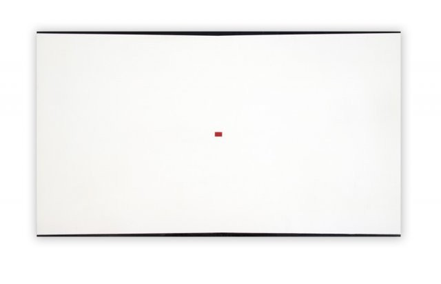 """""""Wall Drawing with Red,"""" by Jeff Kellar"""