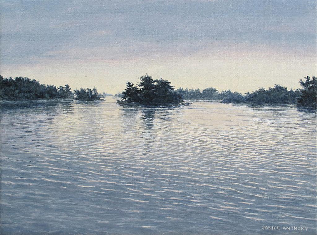 "Janice Anthony, ""Dawn Islands, Ganonoque,"" 8x10"""