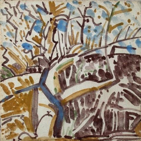 """Apple Tree,"" by Lois Dodd"