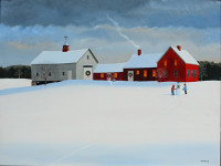 """Marieluise Hutchinson, """"The Way of Wintertime"""""""