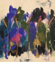 """June Kellogg, Centering, 2014, Acrylic & Mixed Media on Canvas, 34 x 30"""""""