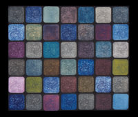 "Rain Sleet Stars, photographic composition, 29 x 33,"" 2017"