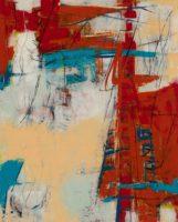 Diane Bowie Zaitlin, Artifact, 2014, mixed media encaustic, 30x24in.