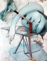 "Sara Stites, Tumbler, 2014, archival inkjet print, 40 x 30"""
