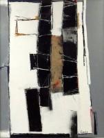 "Conrad Guertin, Untitled 4, acrylic and latex, 49 x 37"""