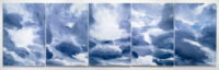 Chris Page, Warm Wind 11.09.2015 in Five Parts, 2016, Acrylic on Canvas 72 x 244 inches