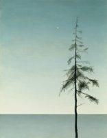 """Kenneth Schweizer, """"Evening Star,"""" oil on panel, 14 x 11"""""""