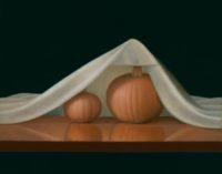 "Kenneth Schweizer, ""October,"" oil on panel, 11 x 14"""
