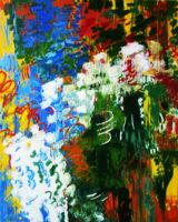 "Lorna Ritz, ""Ocean Wave,"" 2017, oil on canvas, 56 x 45"""