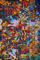 "John Carnes, ""American Baroque,"" watercolor, 2017, 22.5"" x 15"""