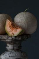 "Lynn Karlin, ""French 'Charentais' with Butterscotch Melons,"" photograph"