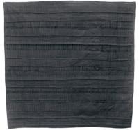 """Gabriella D'Italia, """"Black Finery,"""" 60 x 60,"""" cotton, 2009"""