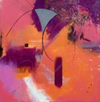 "Jodi Edwards, A Little Bit of Gray, 2016, 48""x48"""