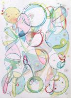 """Mattina Blue, Unconditional Love, 2015, watercolor, 9x12"""""""