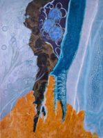 Carol Michaud, Beneath the Surface, 18 X 24 Mixed Media
