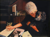 Cocktail Hour: Self-Portrait with Schnitzel and Picasso