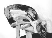 "David Estey, Unintended Consequences, 2010, acrylic, 18"" x 24"""