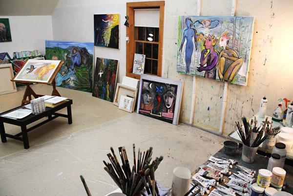 CMCA Open Studio Blog-Alan Fishman