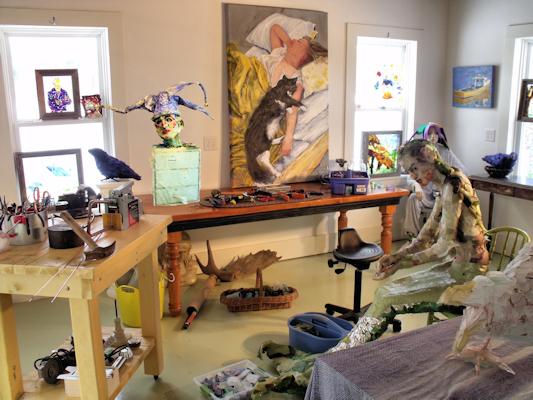 Royane Mosley studio
