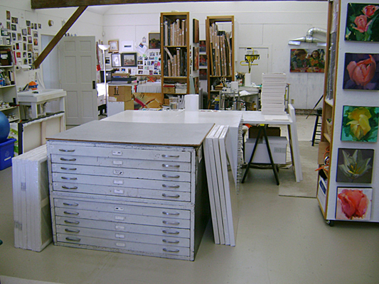 Connie Hayes studio-CMCA Open Studio
