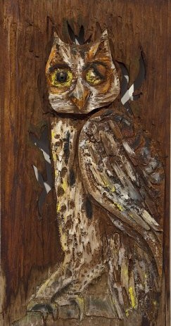 Bernard Langlais CMCA Exhibition-owl