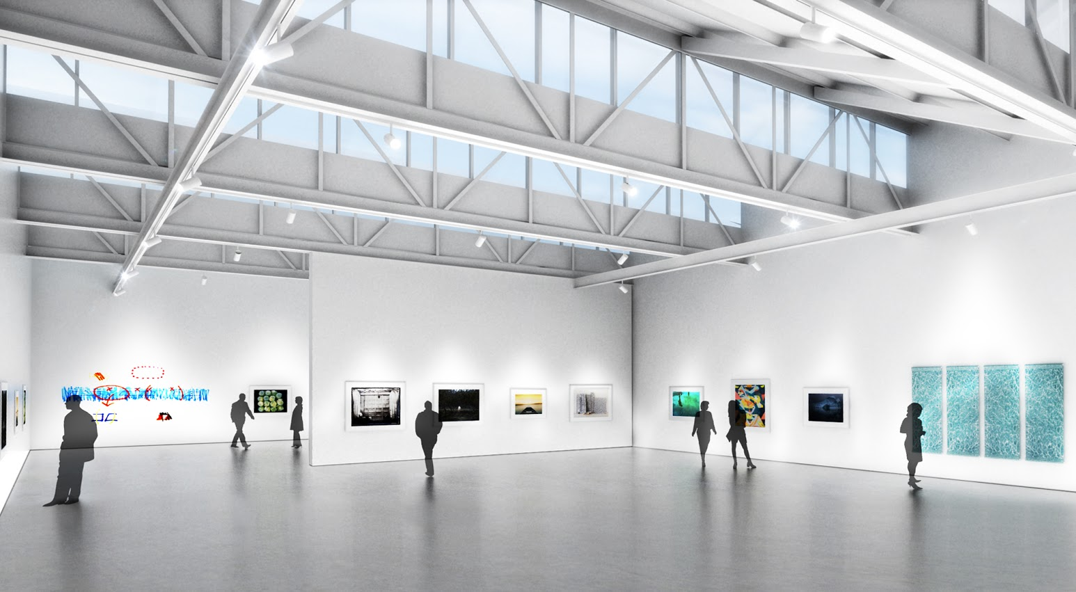 CMCA Rockland - Gallery View Rendering