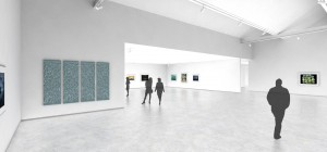 CMCA Rockland - Massing A Gallery Rendering