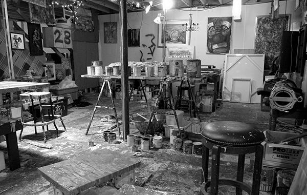 Eric Leppanen-Basement Studio