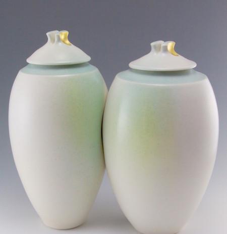 """porcelain, Cone 6 oxidation, 10""""h x 12""""w x 7""""d, $750"""